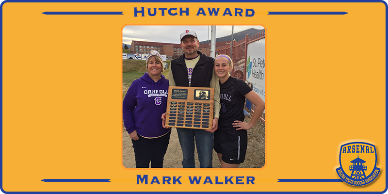 2018 Walker Hutch Award