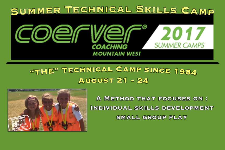 Coerver Technical Camp
