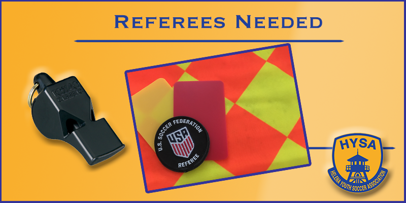 Referees Needed