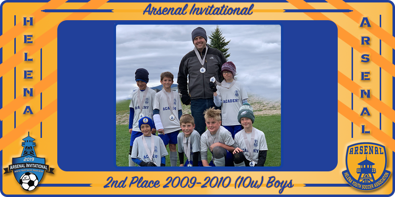 2009-2010 (10u) Academy Boys Take Silver at Arsenal Invitational