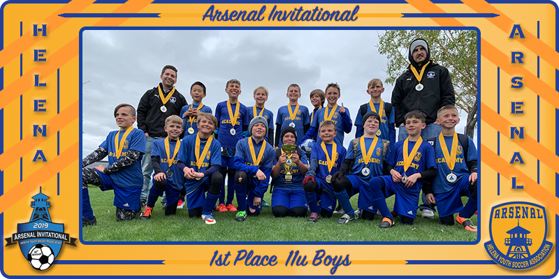 2019 Arsenal Invite 11u Boys Champions