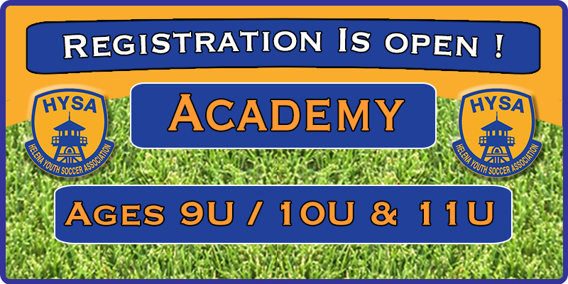 2018 Fall Academy Registration is Open !