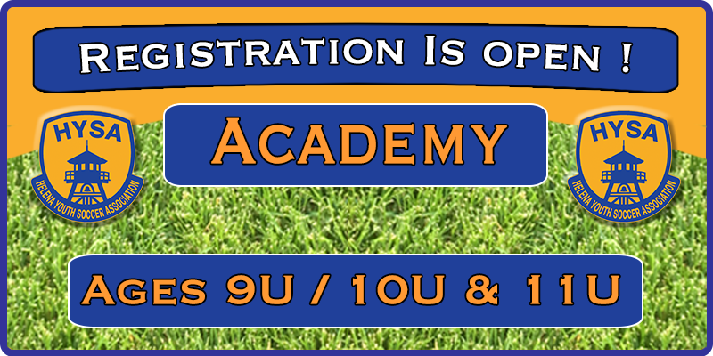 Academy Registration is Open